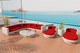 White Wicker Outdoor Patio Furniture by Fiber Sectional Sofa Outdoor Patio Furniture Set 10rw
