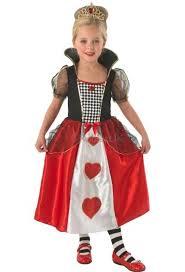 Red Queen Halloween Costume Queen Hearts Girls Costume Red Queen Kids Costume
