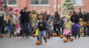 crowd enjoys halloween fun treats at saratoga festival the