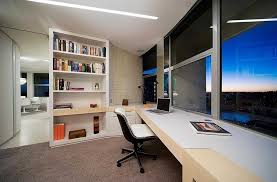 Interior Captivating Apartment Home Office Design With Custom - Apartment interior design blog