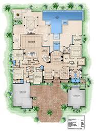 european 4 beds 4 75 baths 8665 sq ft plan 27 455 main floor plan