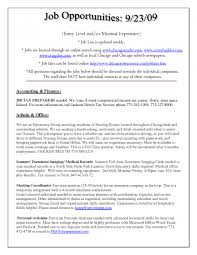 Sample Resume Objectives For Job Fair by Tufts Career Services Cover Letter