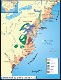 Map Of The New England Colonies by Us History Maps