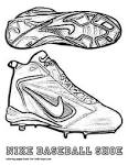 Nike shoe coloring pages