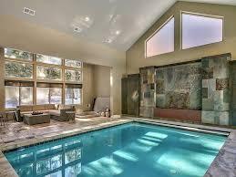 In Door Pool by Luxury House In South Lake Tahoe Indoor Po Vrbo
