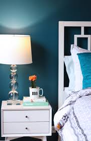 new bedroom paint color u0026 painting lessons learned teal walls