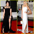 Image Daisy Lowe & Pixie Lott   BRIT Awards  14 Red Carpet Picture
