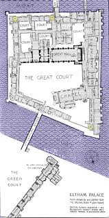 Palace Floor Plans by Medieval Eltham Home Page