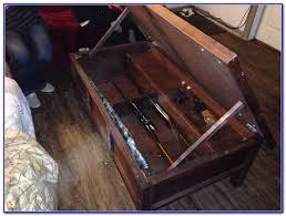hidden gun cabinet coffee table coffee table home furniture