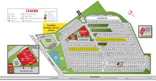Phoenix International Raceway Map by Tucson Arizona Campground Tucson Lazydays Koa