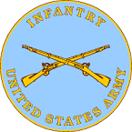 infantry crossed rifles