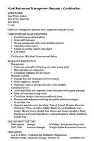 Objectives For Resumes Examples by Restaurant Manager Resume Example Resume Examples Resume