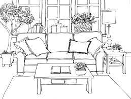 hand rendering interiors drawing hand