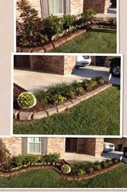 flower bed ideas front of house garden ideas