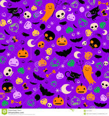 halloween cute background halloween cute skull faces royalty free stock photo image 33524415