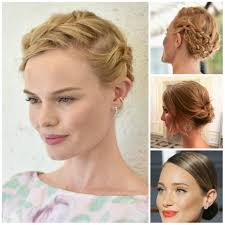 classy updo hairstyles elegant updo hairstyle for medium long hair