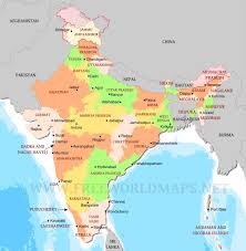 Ancient India Map by India Political Map