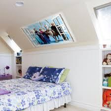 Diy For Home Decor Elsa Anna Sister Princess Wall Sticker Home Decor Cartoon Wall