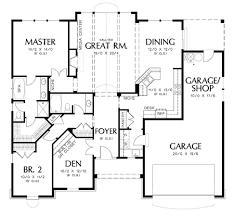 one floor contemporary 4 room house plans home decor waplag