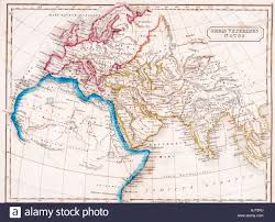 Map Of Europe And Africa by Map Of Europe Northern Africa And Western Asia Orbis Veteribus