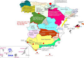 Spain Political Map by Map Of Spain