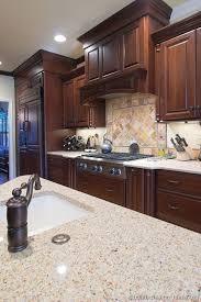 Best  Cherry Kitchen Ideas On Pinterest Cherry Kitchen - Kitchen backsplash ideas dark cherry cabinets