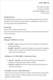Best Resume Format For College Students by Example Resume For College Students Resume Sample For Students