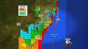 Miami Zip Codes Map by Miami Dade County Updates Hurricane Evacuation Zones Maps