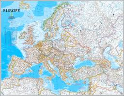 Political Map Europe by National Geographic U0027s Europe Map Zoom