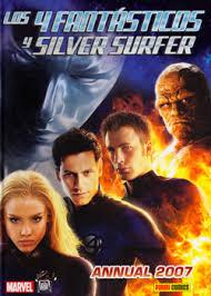 Los 4 Fantasticos Y Silver Surfer