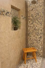 best 25 river rock bathroom ideas on pinterest master bathroom