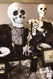 halloween skeletons decorations spooky soiree