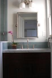 Backsplash Bathroom Ideas Colors Ocean Glass Subway Tile Subway Tiles Residential Construction