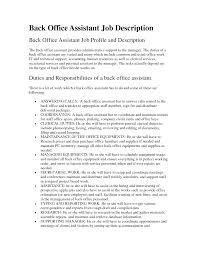 Secretary Job Description For Resume by Technician Duties Financial Aid Specialist Sample Resume