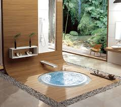 Antique Japanese Bathroom Interior Design With Granite Chairs Also - Japanese bathroom design