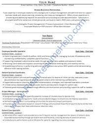 Human Resources Professional Resume Sample    Real Resume Help Real Resume Help Ask our professional writers to customize a resume for you