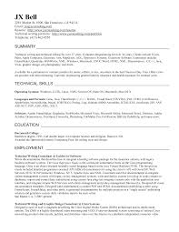 Technical Skills On Cv How To Write A Tech Resume 22 Your Resumes List Of Technical