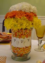 halloween crafts with candy candy corn centerpieces candy corn centerpieces and creative