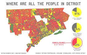 Detroit Michigan Map by Detroit Population Density Map Detroit Population Map Michigan
