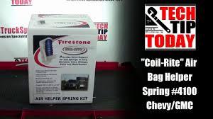 firestone 4100 coil rite air bags chevy p30 motorhome class a