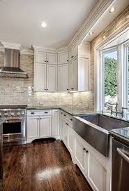 Small White Kitchen Design Ideas by Best 25 White Kitchen Cabinets Ideas On Pinterest Kitchens With