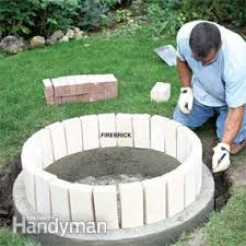 How To Make A Fire Pit In Backyard by How To Build A Diy Fire Pit U2014 The Family Handyman