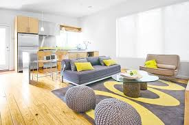 magnificent 30 grey black and yellow living room decorating
