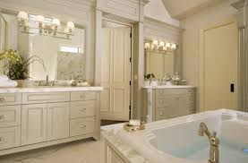 replace bathroom mirror a slim ledge or trim right between your