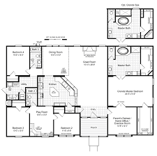 view the hacienda ii floor plan for a 2580 sq ft palm harbor the