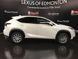 lexus nx white price used 2017 lexus nx 200t 4 door sport utility in edmonton ab l13470