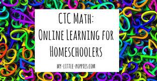 CTC MATH  Online Math Curriculum for Homeschoolers