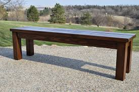 Rustic Wooden Bench With Storage Rustic Wood Bench Nyfarms Info