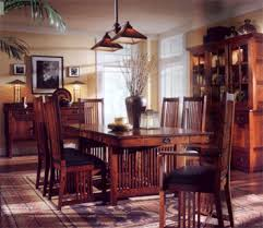 arts and crafts dining room furniture arts and crafts extension