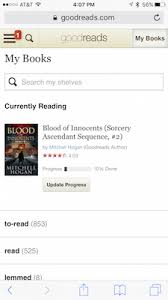 Goodreads Help Topics Goodreads      quot Update Progress quot  button for a book that you     re Currently reading   On our non mobile website  you can add the date at any time from your My Books page